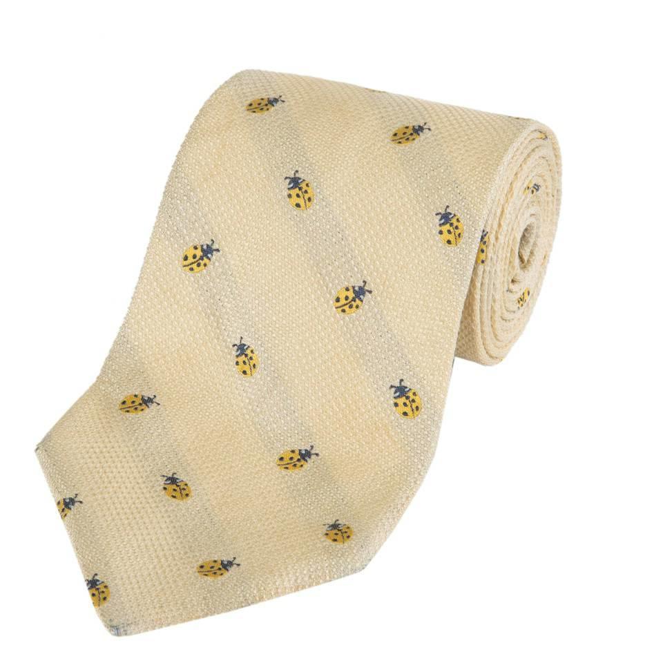Ladybird Silk Tie