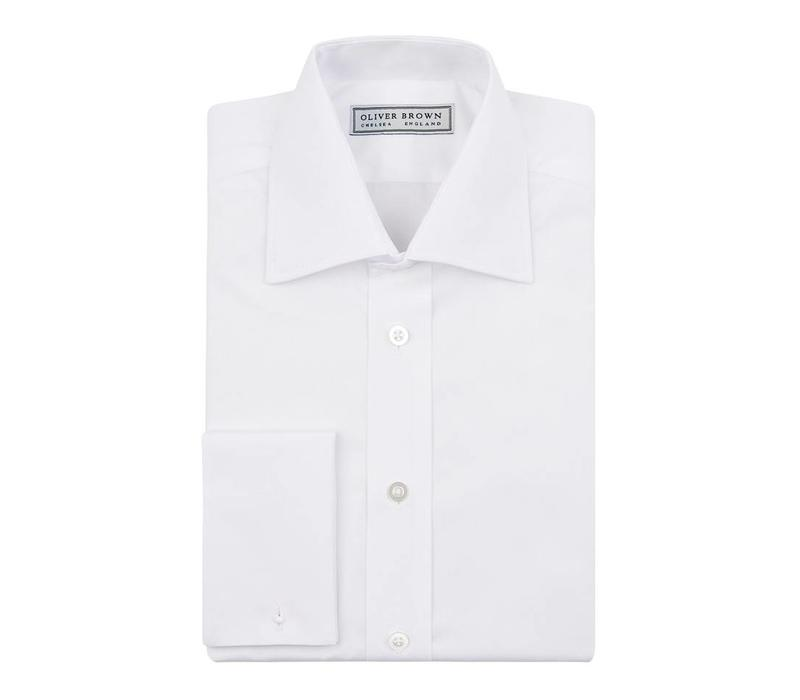 City Shirt, Poplin - White