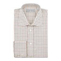 Tattersall Check Shirt - Ochre/Navy