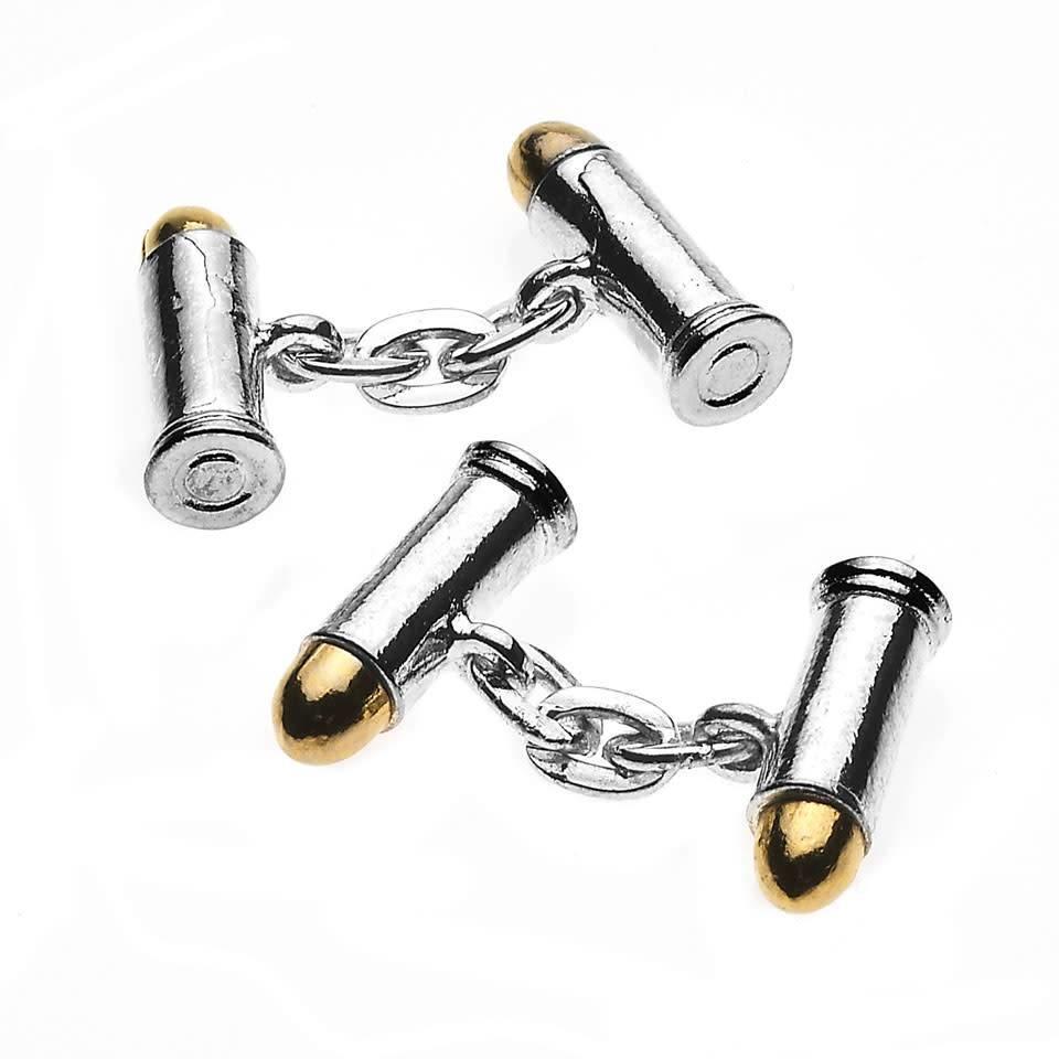 Sporting Cufflinks, Bullets