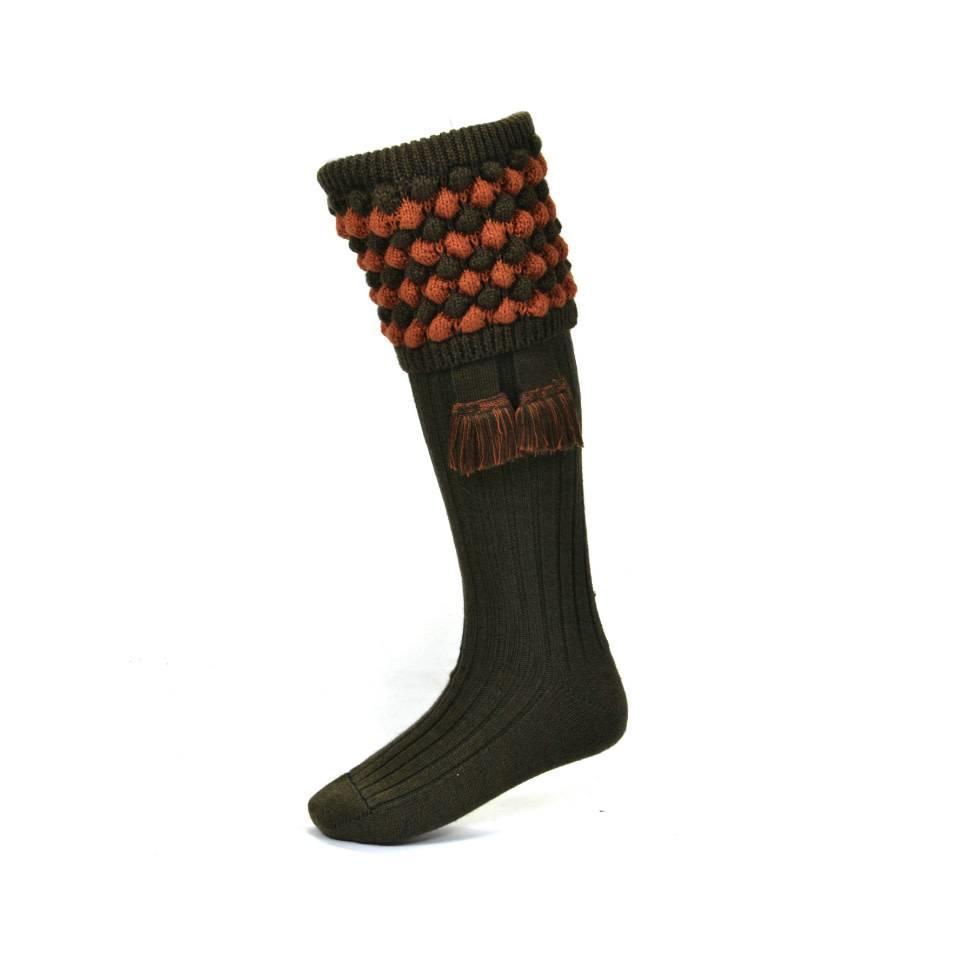 Angus Shooting Socks - Bracken
