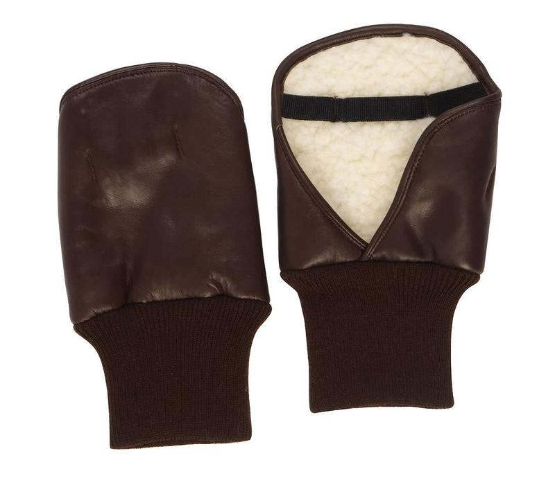 Leather Shooting Mitts