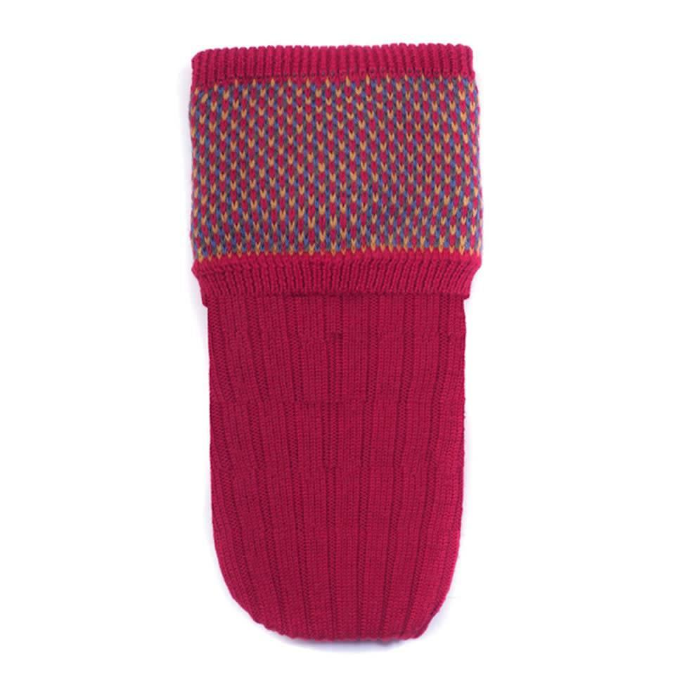 Tayside Shooting Socks - Brick Red