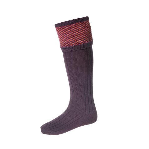 Tayside Shooting Socks - Purple