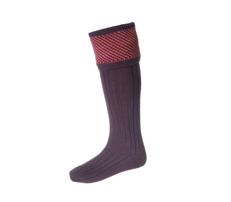 Tayside Shooting Socks - Purple