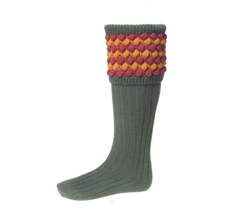 Angus Shooting Socks - Olive