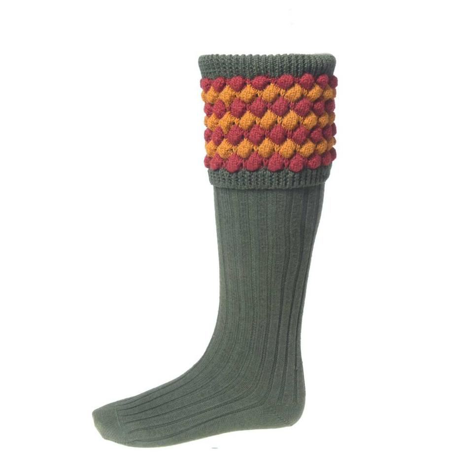 Angus Shooting Socks - Olive
