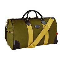 Chapman Canvas Flight Holdall - Deep Olive