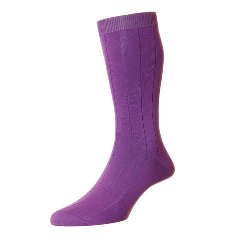 Sea Island Cotton Socks - Crocus