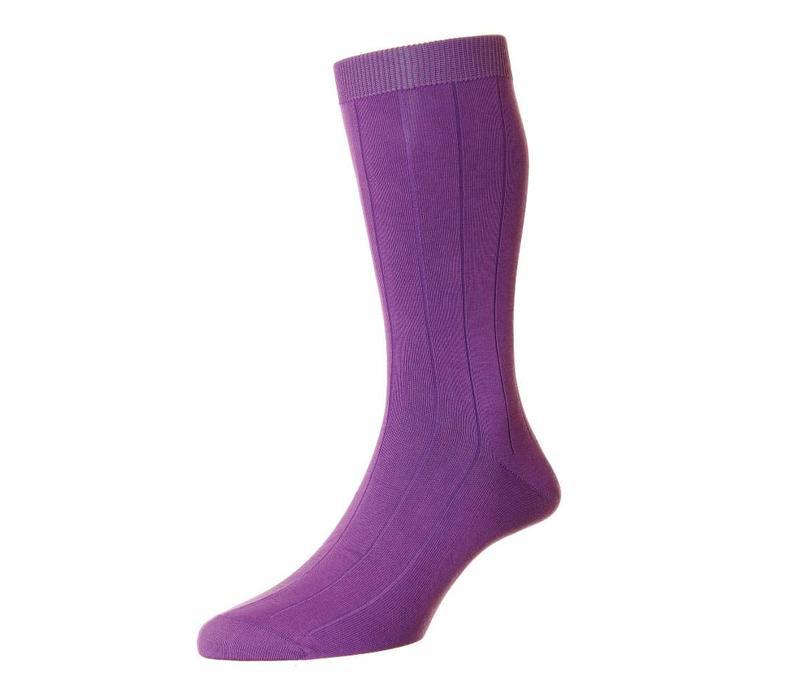 Sea Island Cotton Socks - Crocus