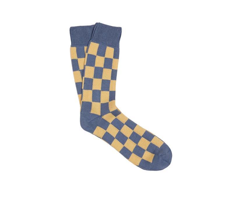 Small Check Socks