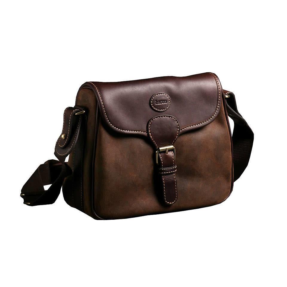 Baron Suede & Leather Cartridge Bag