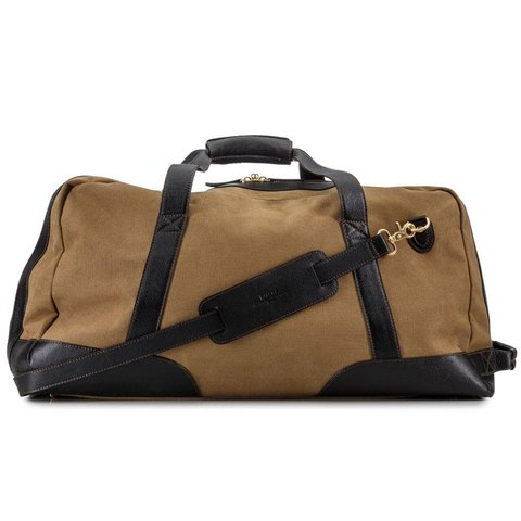 Baron Canvas & Leather Duffel Bag - Large