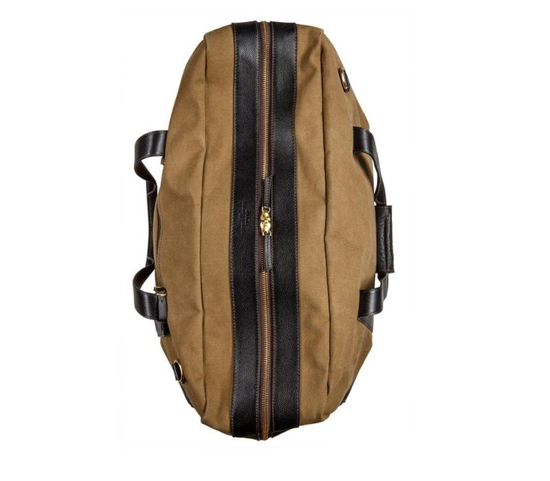 Baron Canvas & Leather Duffel Bag - Large