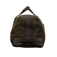 Baron Suede & Leather Duffel Bag - Small