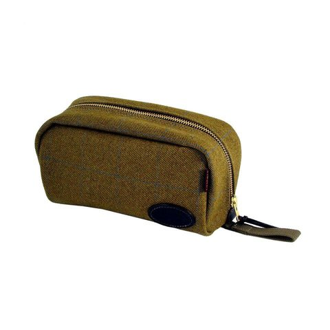 Chapman Wash Bag - Olive Tweed
