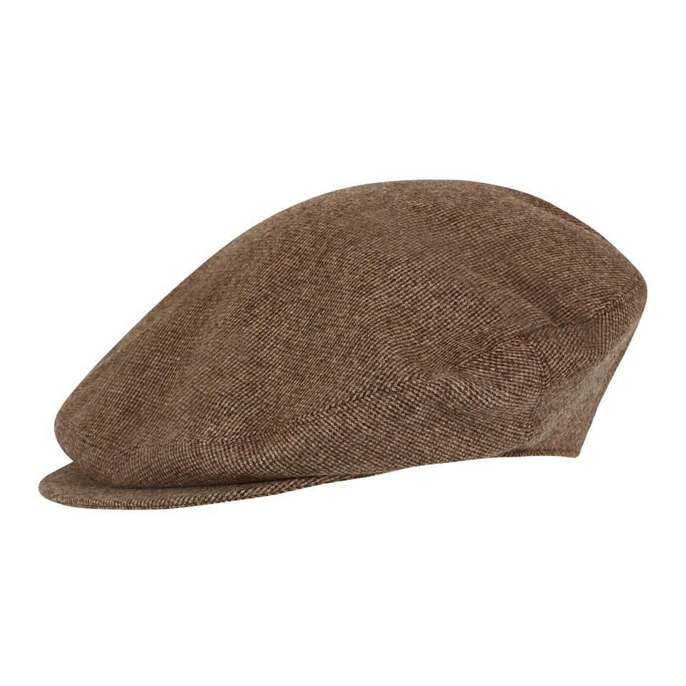 Oversize Kinross Tweed Cap