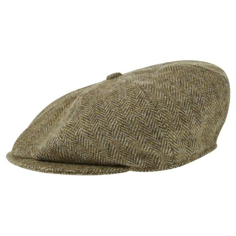 Deveron Tweed Baker Boy Cap