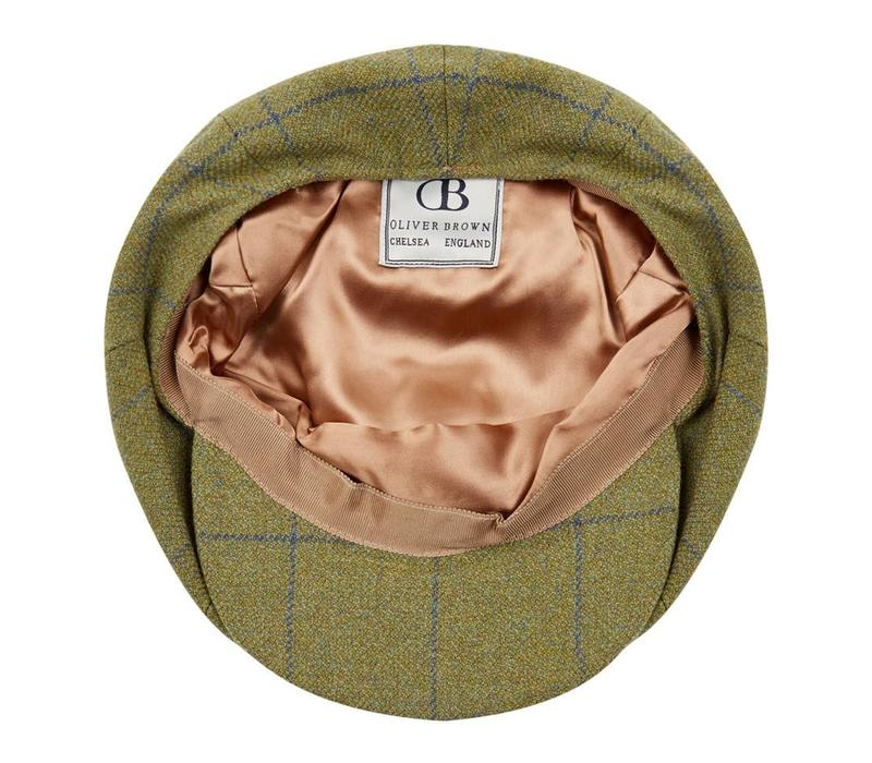 Ettrick Tweed Baker Boy Cap