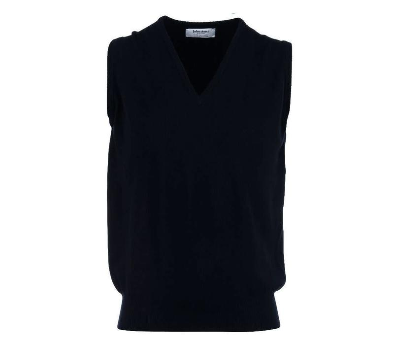 Cashmere Sleeveless Jumpers - Black