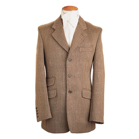 Ladies Keepers Tweed Hacking Jacket