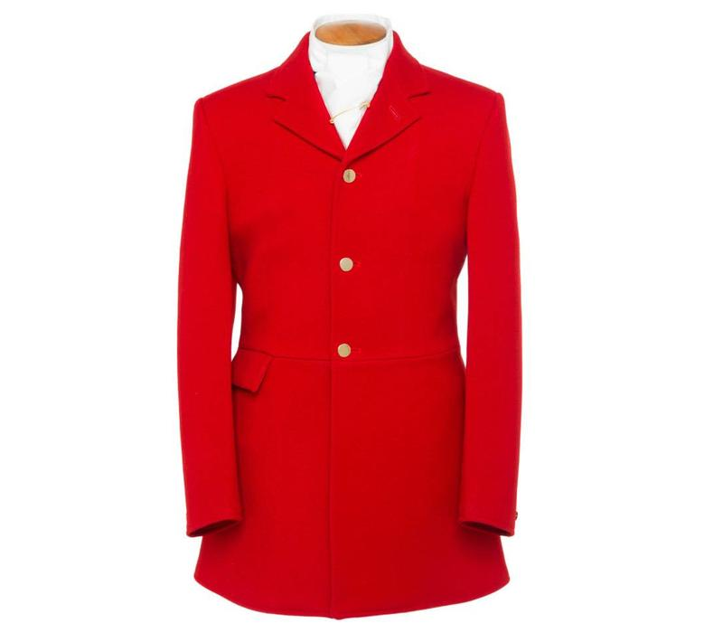 Ladies Traditional Red Hunting Coat