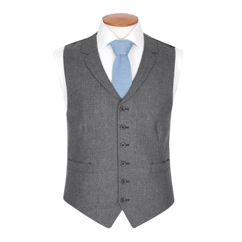 Single Breasted Tweed Waistcoat, 2017 - TW5