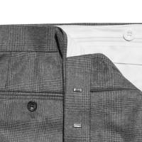 Pleated Trousers - Glen Muir Tweed