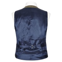 Double Breasted Waistcoat - Shaw Tweed