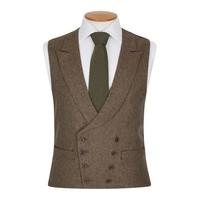 Double Breasted Waistcoat - Kinross Tweed