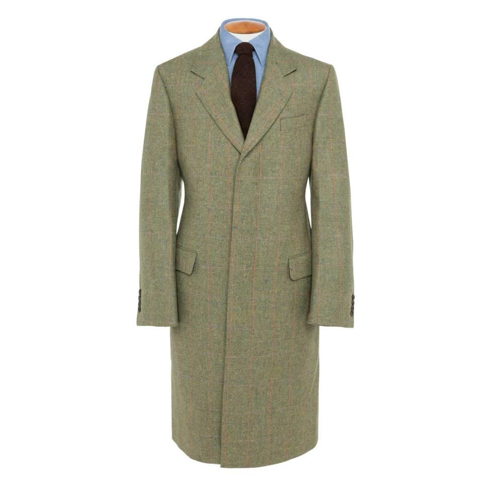 Single Breasted Tweed Overcoat, 2017 - TW1
