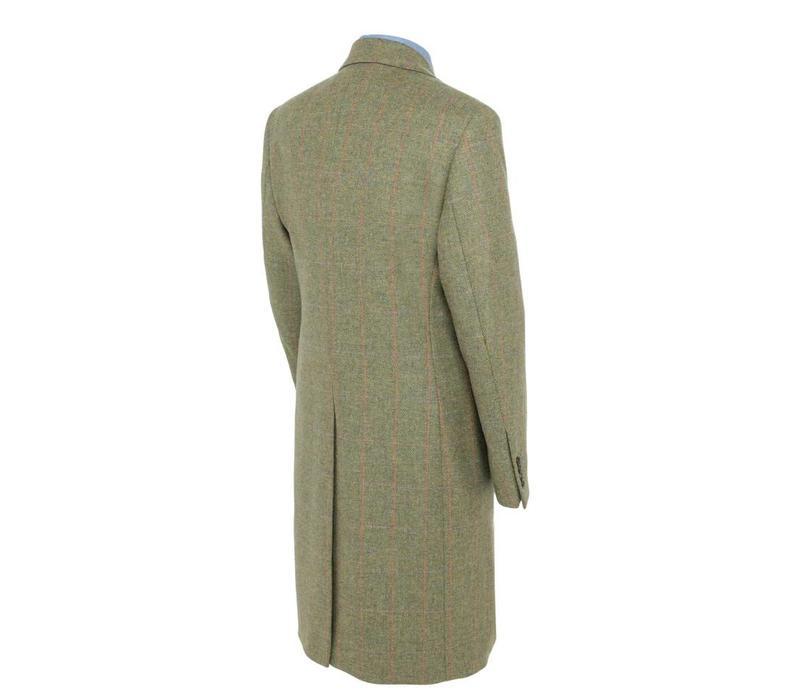 Single Breasted Tweed Overcoat, 2017 - TW1