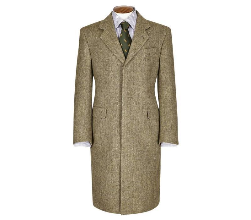 Single Breasted Overcoat - Deveron Tweed