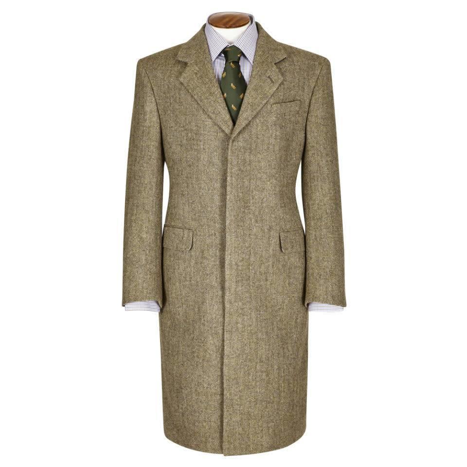 Single Breasted Overcoat - Deveron Tweed 2018