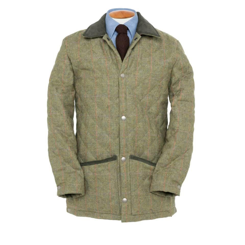 Tweed Quilted Jacket, 2016 - TW1