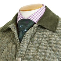 Quilted Jacket, Shaw Tweed