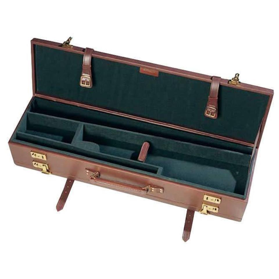Calf-hide Double Gun Case