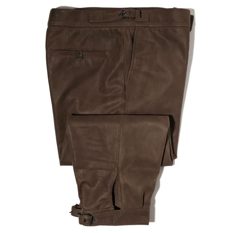 Leather Breeks - Brown