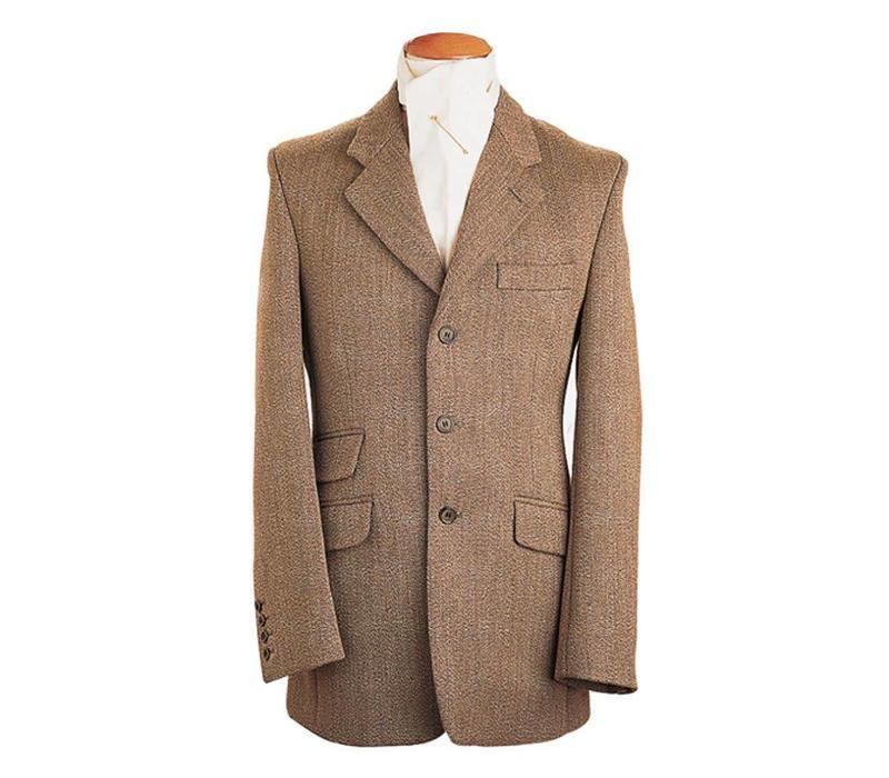 Mens Hacking Jacket - Keepers Tweed