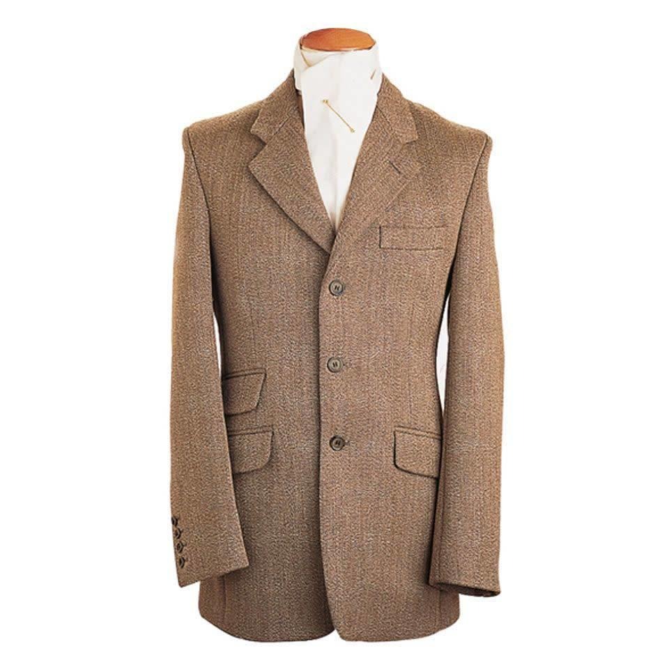 Mens Hacking Jacket - Keepers Tweed