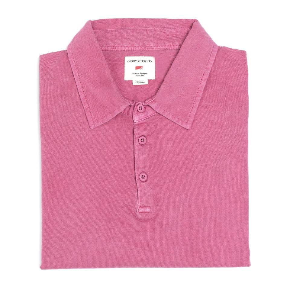 Polo Shirt, Cotton - Red
