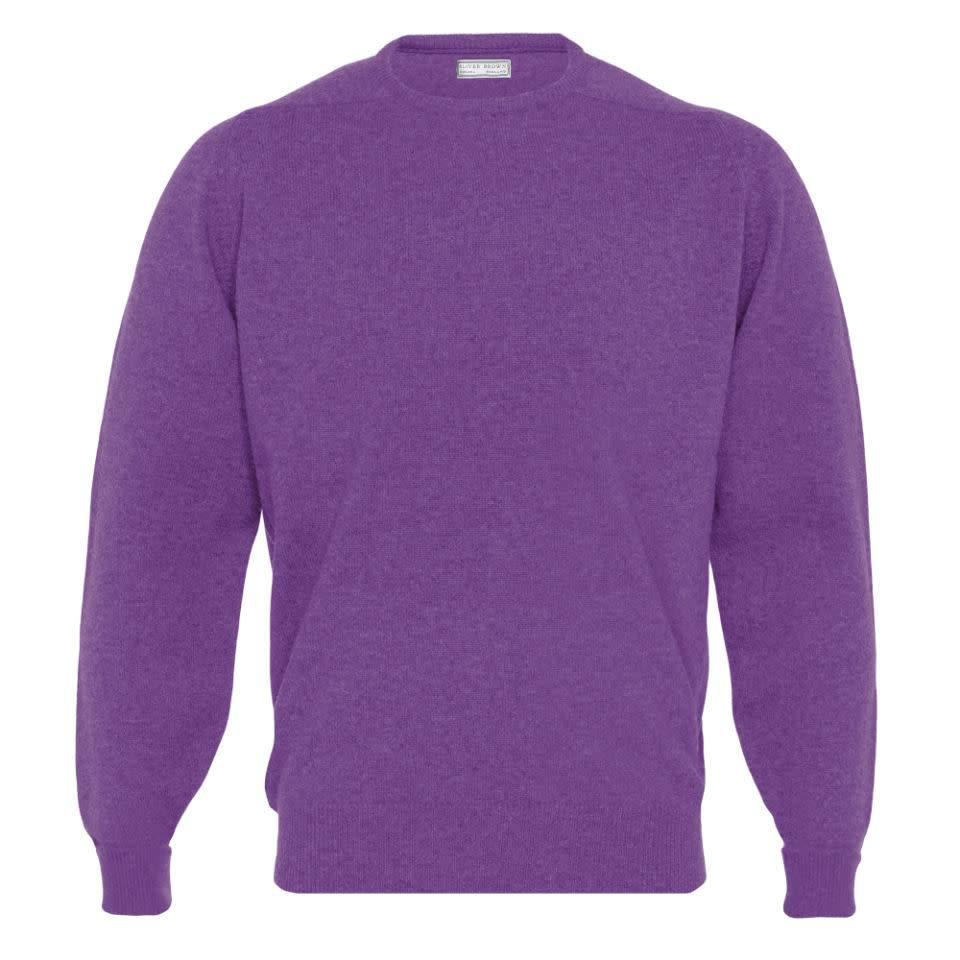 Cashmere Crew Neck Jumpers - Tyre