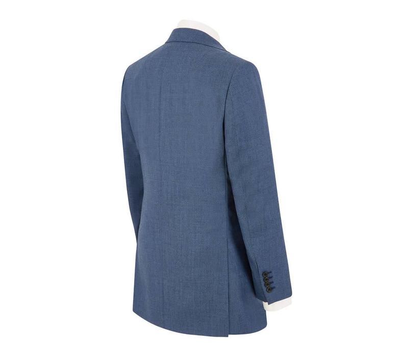 Lightweight Birdseye Suit - Royal Blue