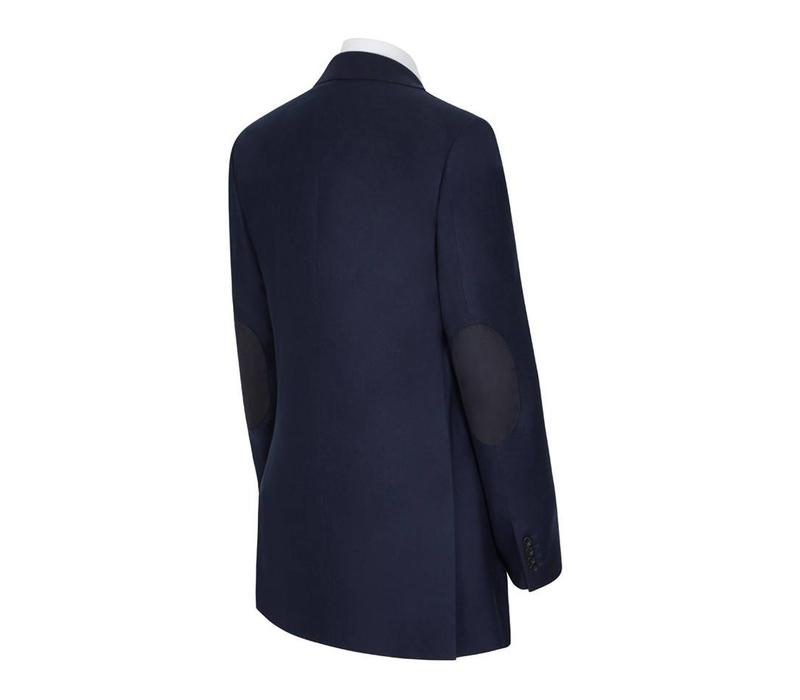 Eaton Jacket - Navy Loden with Elbow Patches