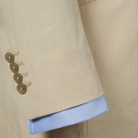 Eaton Jacket - Cream Linen