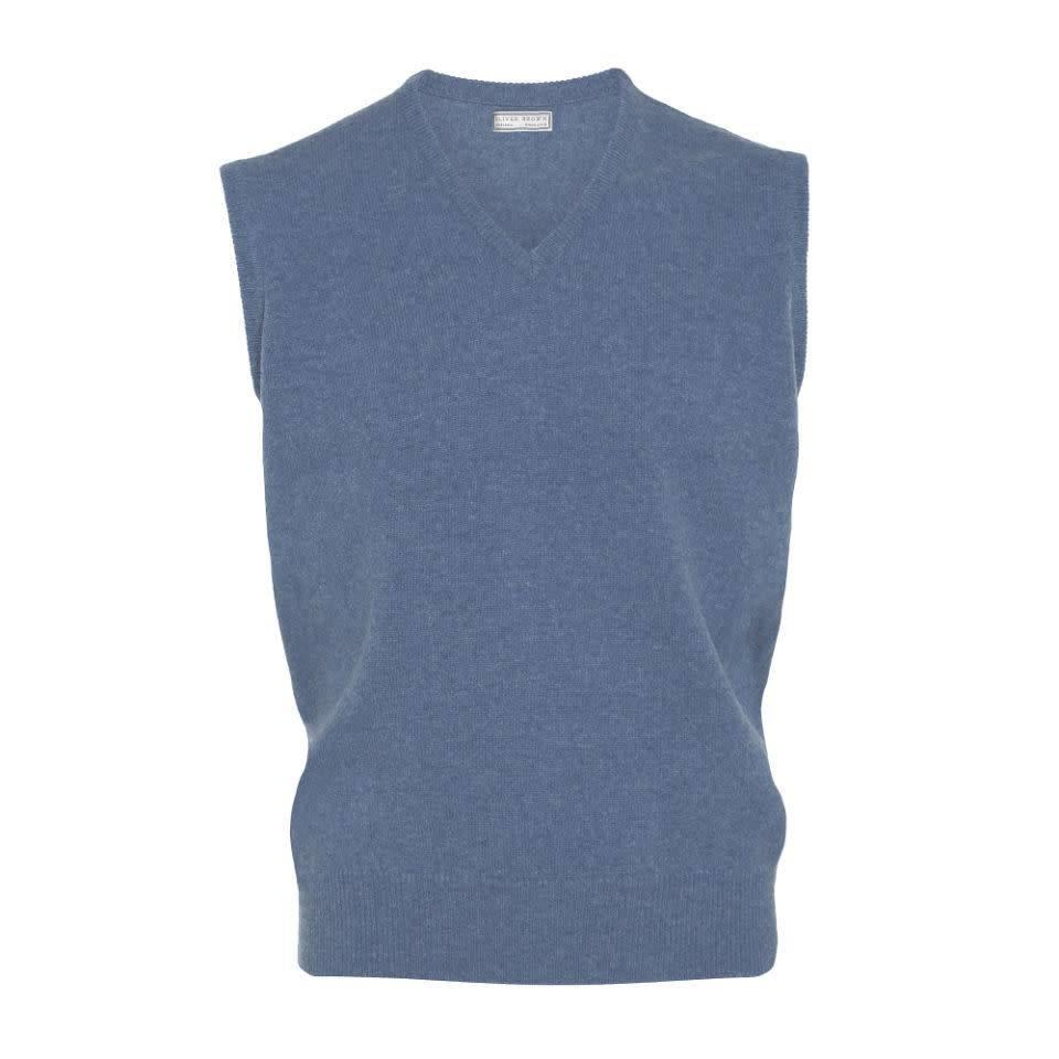 Sleeveless Lambswool Jumpers - Clyde
