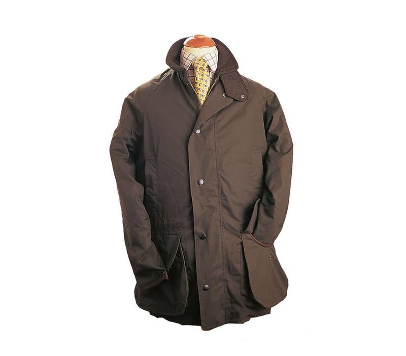 Ventile Cotton Shooting Coat - Brown
