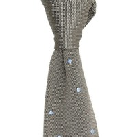 Maverick Silk Knitted Tie - Slate