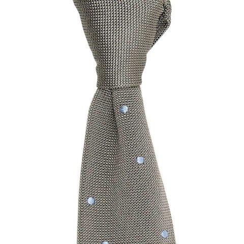 Maverick Silk Knitted Tie - Slate