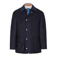Loden Field Coat -  Navy